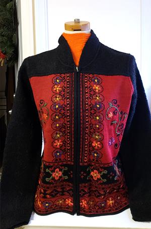 The Verona alpaca sweater